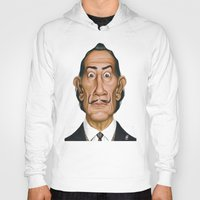 salvador dali Hoodies featuring Celebrity Sunday ~ Salvador Dali by rob art | illustration