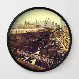 Queens Row Wall Clock