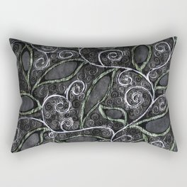 Glitter Vine Rectangular Pillow