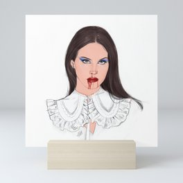 Lana for Vogue/Itaia Mini Art Print