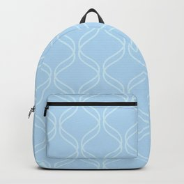Double Helix - Light Blues #100 Backpack