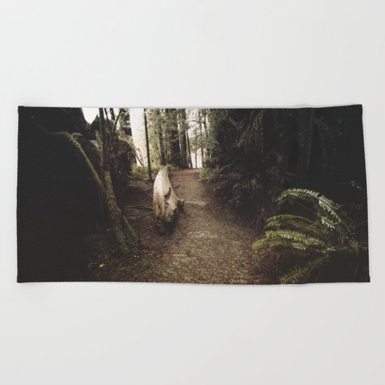 Adventure Ahead Beach Towel