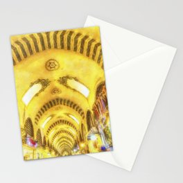 The Spice Bazaar Istanbul Art Stationery Cards