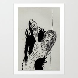 Blood Sucker Art Print
