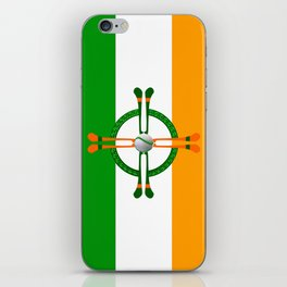Hurley and Ball Celtic Cross Design iPhone Skin