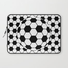 Black and White 3D Ball pattern deign Laptop Sleeve