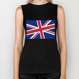 "Union Jack with a nice diagonal spin, designed to make that duvet stand out ""loud and proud"" Biker Tank"