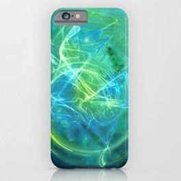 Essence Green & Blue iPhone Case