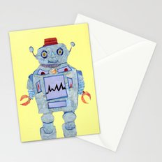 Robot Robotic! Stationery Cards