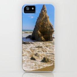 Rocky Paradise in Malibu iPhone Case