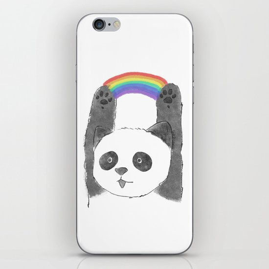 panda beam iPhone & iPod Skin