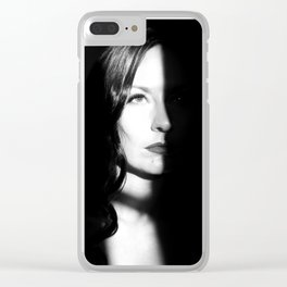 Cat People Clear iPhone Case