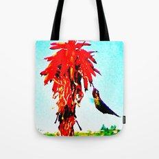 Stickybeaking Hummingbird Tote Bag