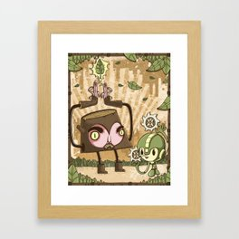 MegaWood Framed Art Print
