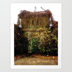 Nature finds the way inside... Art Print