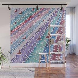 Grandma Love Wall Mural