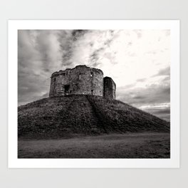 Clifford's Tower Art Print