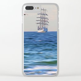 Sailing Clear iPhone Case