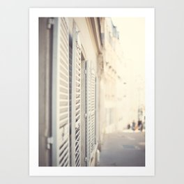Paris, Sweet Montamartre Memories Art Print