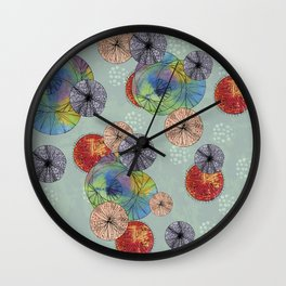 Abstract Solar System Wall Clock