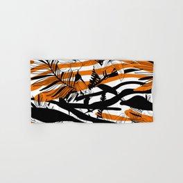 Floral Tiger Animal Print Hand & Bath Towel