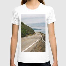 Big Sur Highway 1 Wall Art | California Nature Mountains Ocean Beach Coastal Travel Photography Print T-shirt