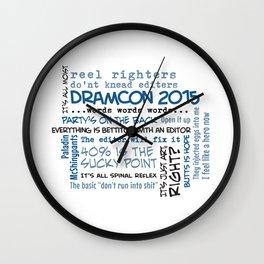 DramCon 2015 Wall Clock