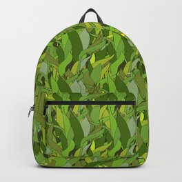 Lucky Bamboo in Porcelain Bowl Backpack