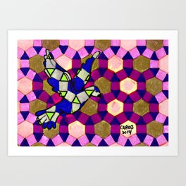 Peace Dove #1 Art Print