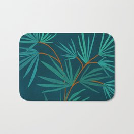 Night Palm / Night Scene Series Bath Mat