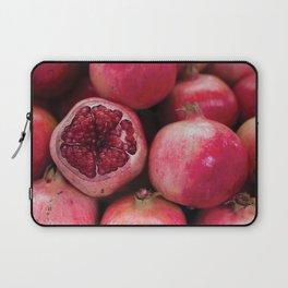 TEL AVIV, ISRAEL - Pomegranates at the Market Laptop Sleeve
