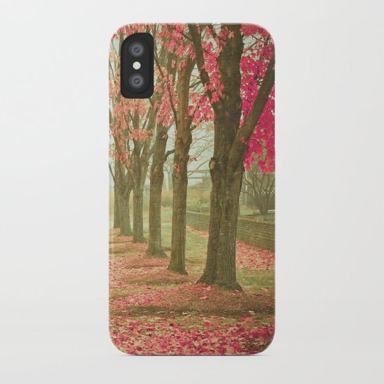 Scarlet Autumn iPhone Case