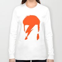 bowie Long Sleeve T-shirts featuring BOWIE by eve orea