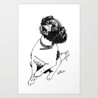 Toki - English Springer Spaniel Art Print