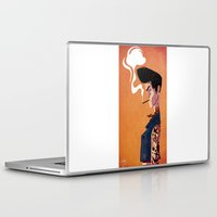 rockabilly Laptop & iPad Skins featuring Rockabilly Boy by quentinschall