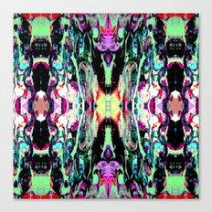 Internal Kaleidoscopic Daze- 18 Canvas Print