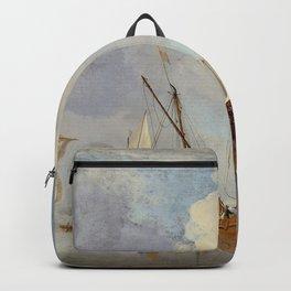 "Willem Van de Velde, the younger ""A Calm"" Backpack"