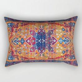 N86 - Vintage Boho Berber Moroccan Handmade Style Design. Rectangular Pillow