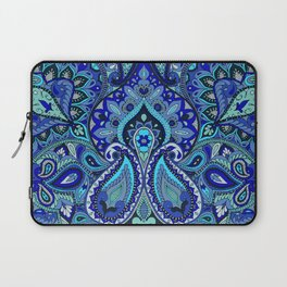 Paisley Blue Laptop Sleeve
