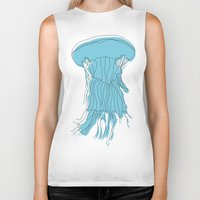 medusa Biker Tanks featuring medusa by Manola  Argento