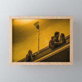 Underground Lovers Framed Mini Art Print
