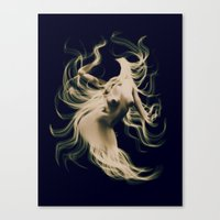goddess Canvas Prints featuring Goddess  by    Amy Anderson
