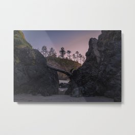 Secret Tide Pool Entrance Metal Print