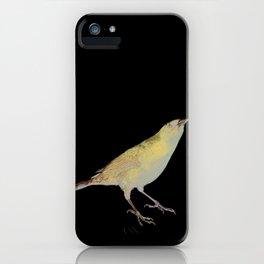 shiny cowbird iPhone Case