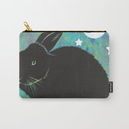 The Black Bunny Carry-All Pouch