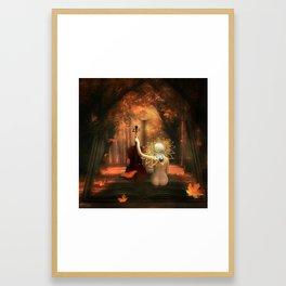 THE BACKROADS JOURNAL Framed Art Print