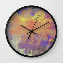 Partly Cloudy Sky Wall Clock