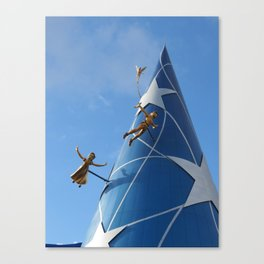 You can fly! Canvas Print