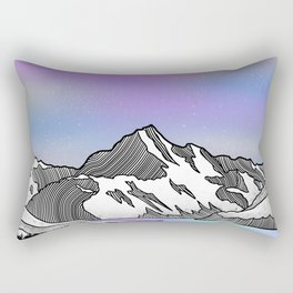 Aoraki Mount Cook Rectangular Pillow