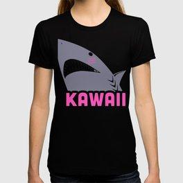 Cute Kawaii Anime Great White Shark T-shirt